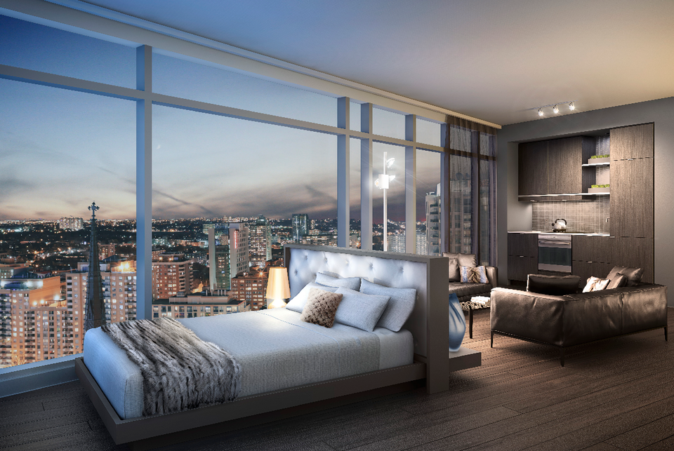 New Interior Renderings For Massey Tower Urban Toronto