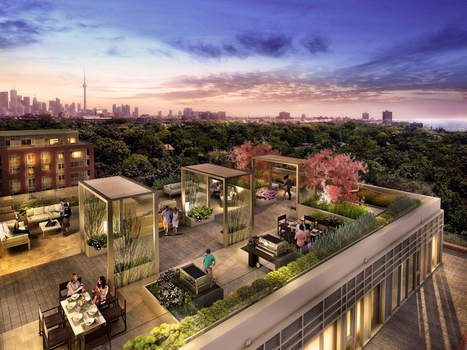 New rendering highlights great view from daniels 39 highpark for Terrace new year party
