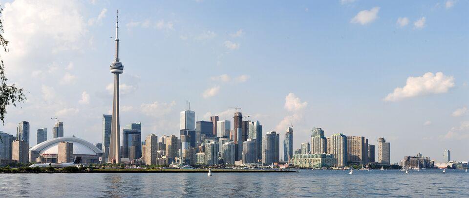 Ferry Island Toronto High Water