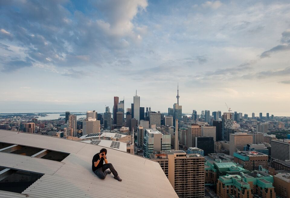 Above – Urban Rooftop and Skyline Photography | InspireFirst