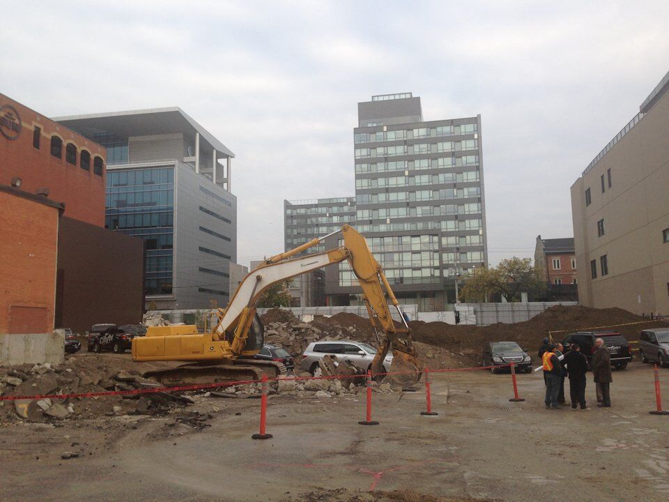 aeb573129379 Ground Broken for Globe and Mail Centre on King Street East