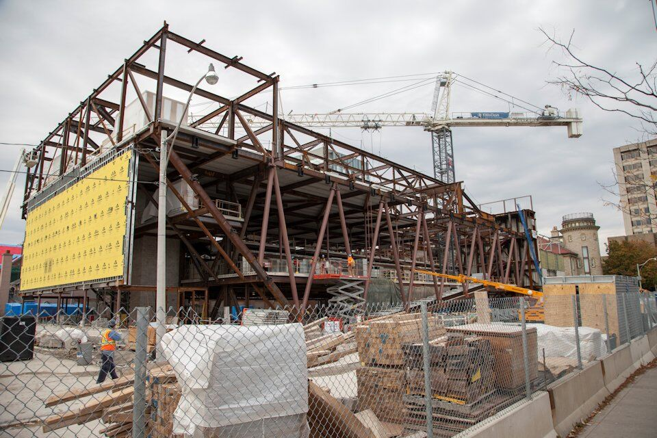 Steel Rising at U of T s Goldring Centre for High Performance