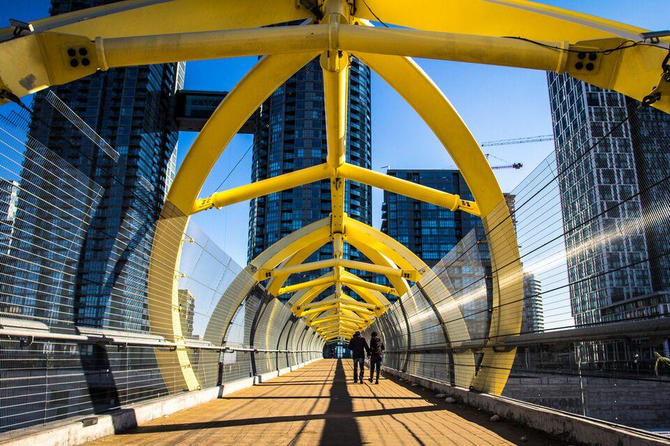 Photo Of The Day Bridge Of Light Urban Toronto