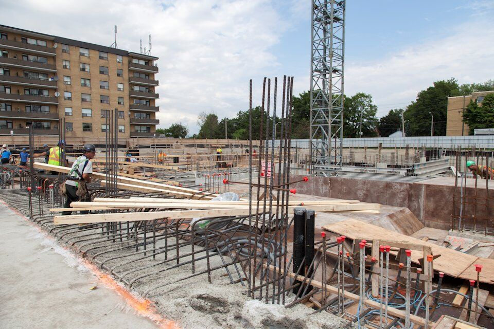 Lash group 39 s cloud9 condos approaching grade in rexdale for Cloud 9 architecture