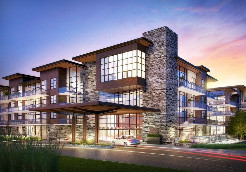 The craftsman comes to clarkson village in mississauga for Modern condo building design