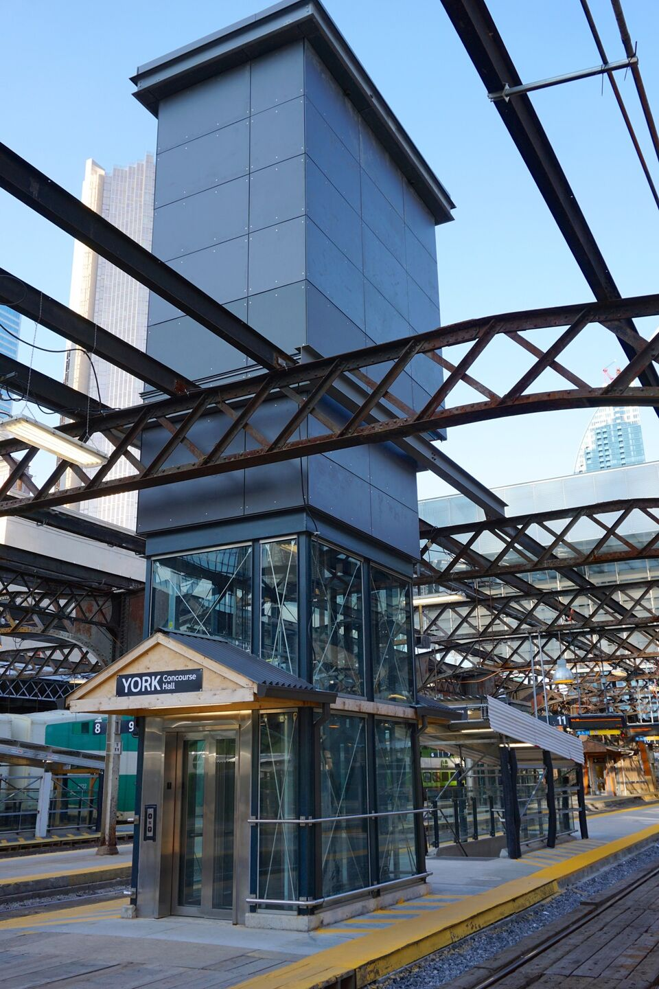 Work Continues On The Union Station Train Shed And Atrium