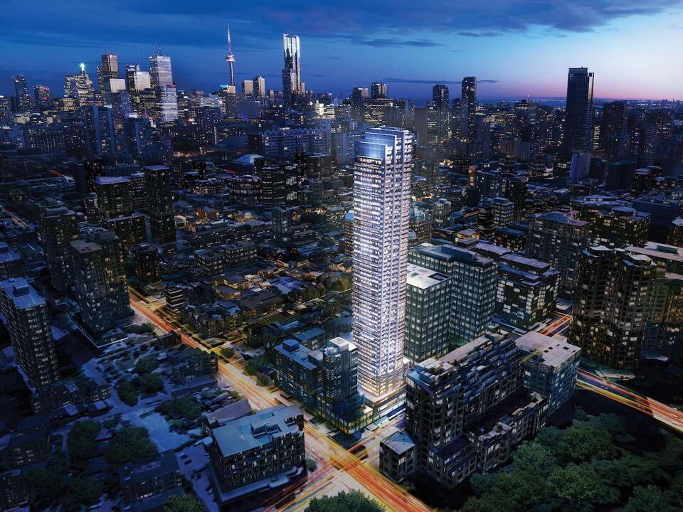 A rendering of the project image courtesy of the Gupta Group & Rosedale on Bloor Announces Canopy by Hilton as Hotel Tenant ...