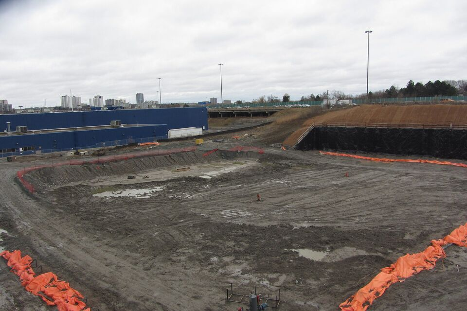 Park Place In North York The Excavation At End Of 2015 For Opus And Omega Image By UT Forum Contributor Salsa