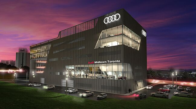 Finishing Touches Complete Aesthetic Of Audi Midtown Toronto - Audi toronto
