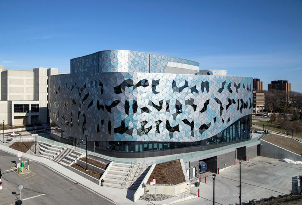Photo of the day bergeron centre for engineering for Chair in engineering design university of toronto