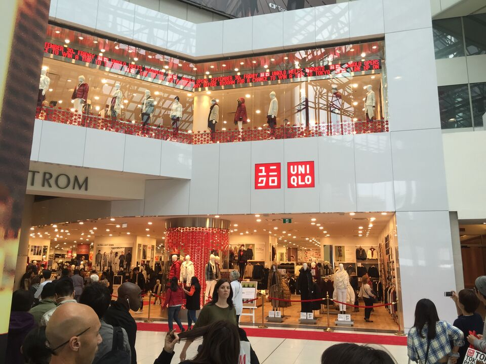 View From The Eaton Centres Uniqlo Opening Image By Forum Contributor Stjames2queenwest