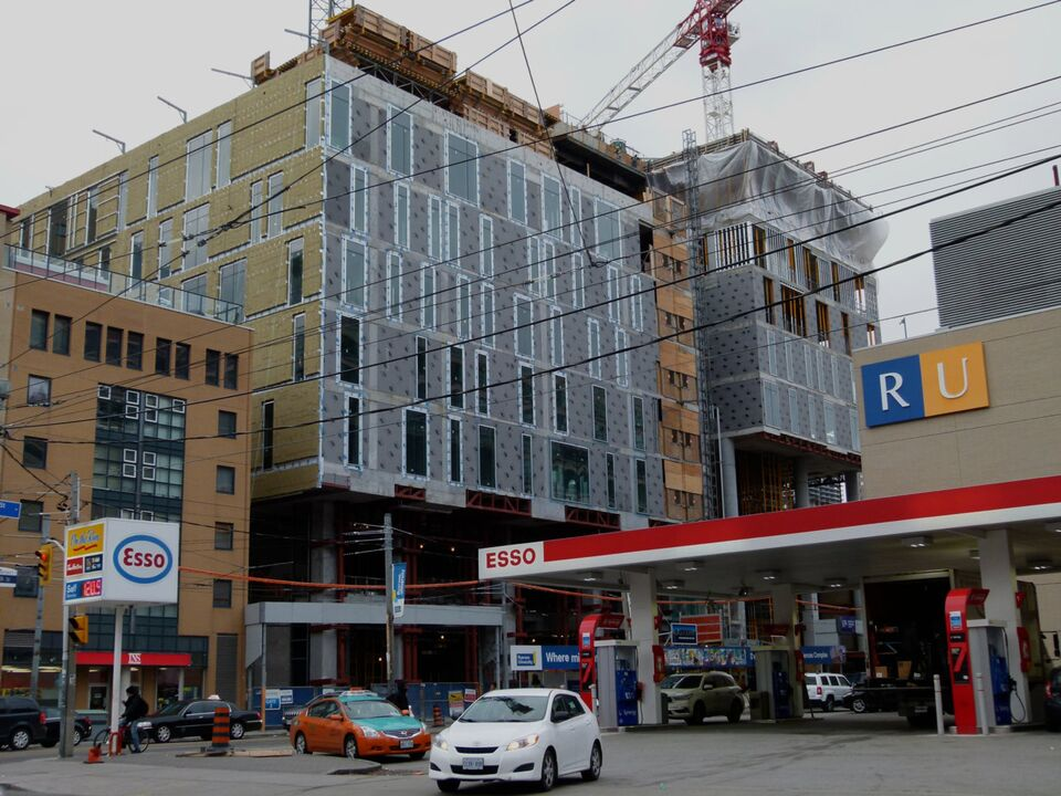 Ryerson's Daphne Cockwell Complex Continues Its Rise ...