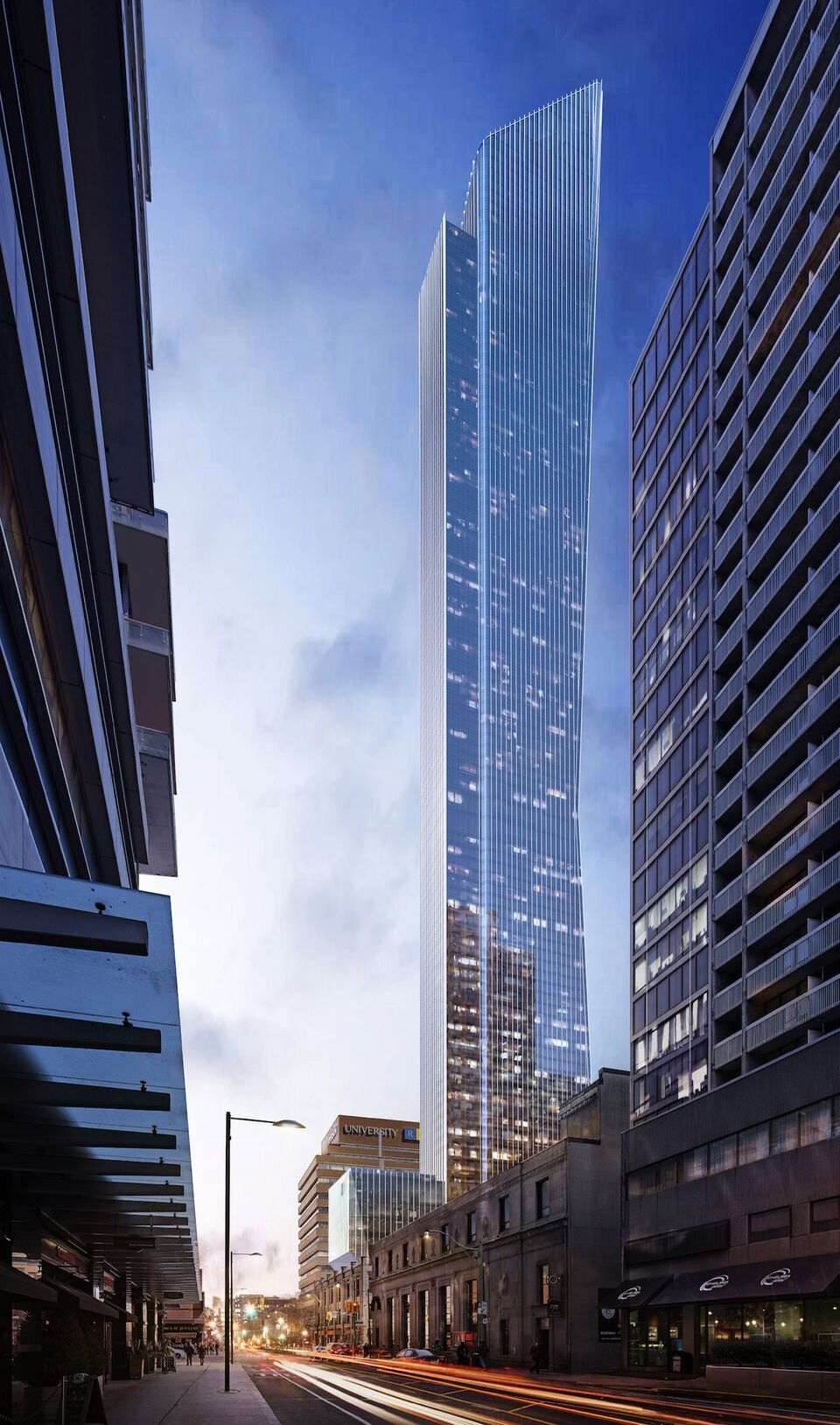 The Sculptural 3439m Version Of Proposal By Kohn Pederson Fox And ArchitectsAlliance For Cresford
