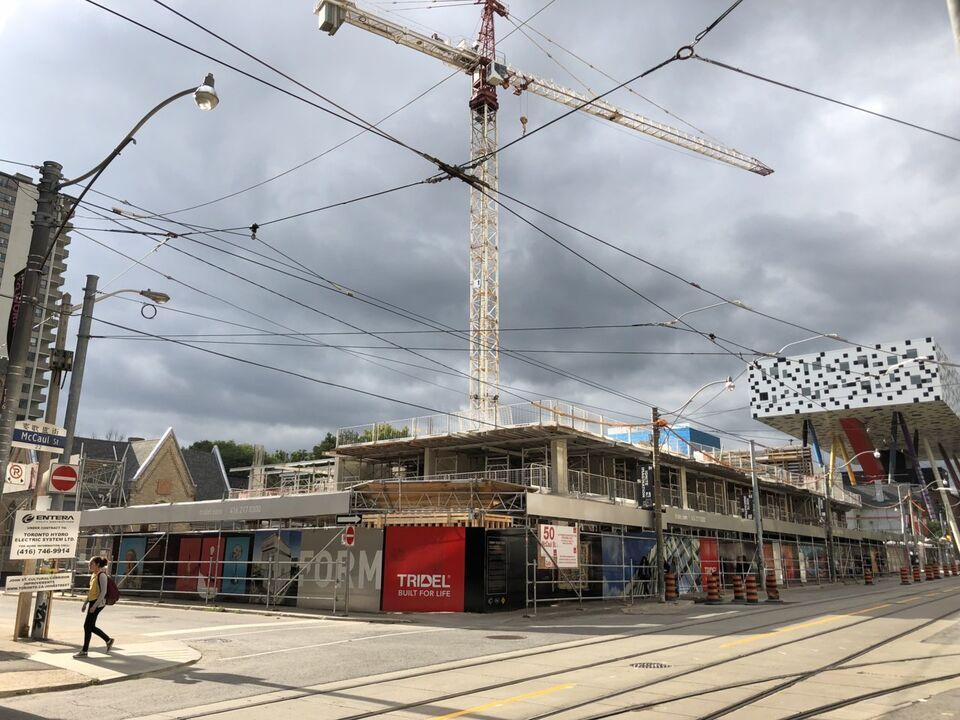 Form Condos Begins 14-Storey Ascent Above McCaul Street   Urban Toronto